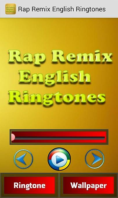 rap ringtone english
