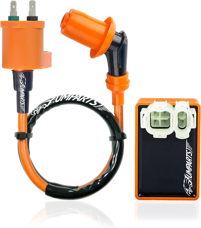 gy6 racing cdi wiring diagram ac amazon com umparts universal hot fire high performance ignition  hot fire high performance ignition