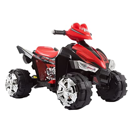 Battery Powered Ride On Toys For Toddlers >> Amazon Com Lil Rider Quad Battery Powered Ride Atv Four Wheeler