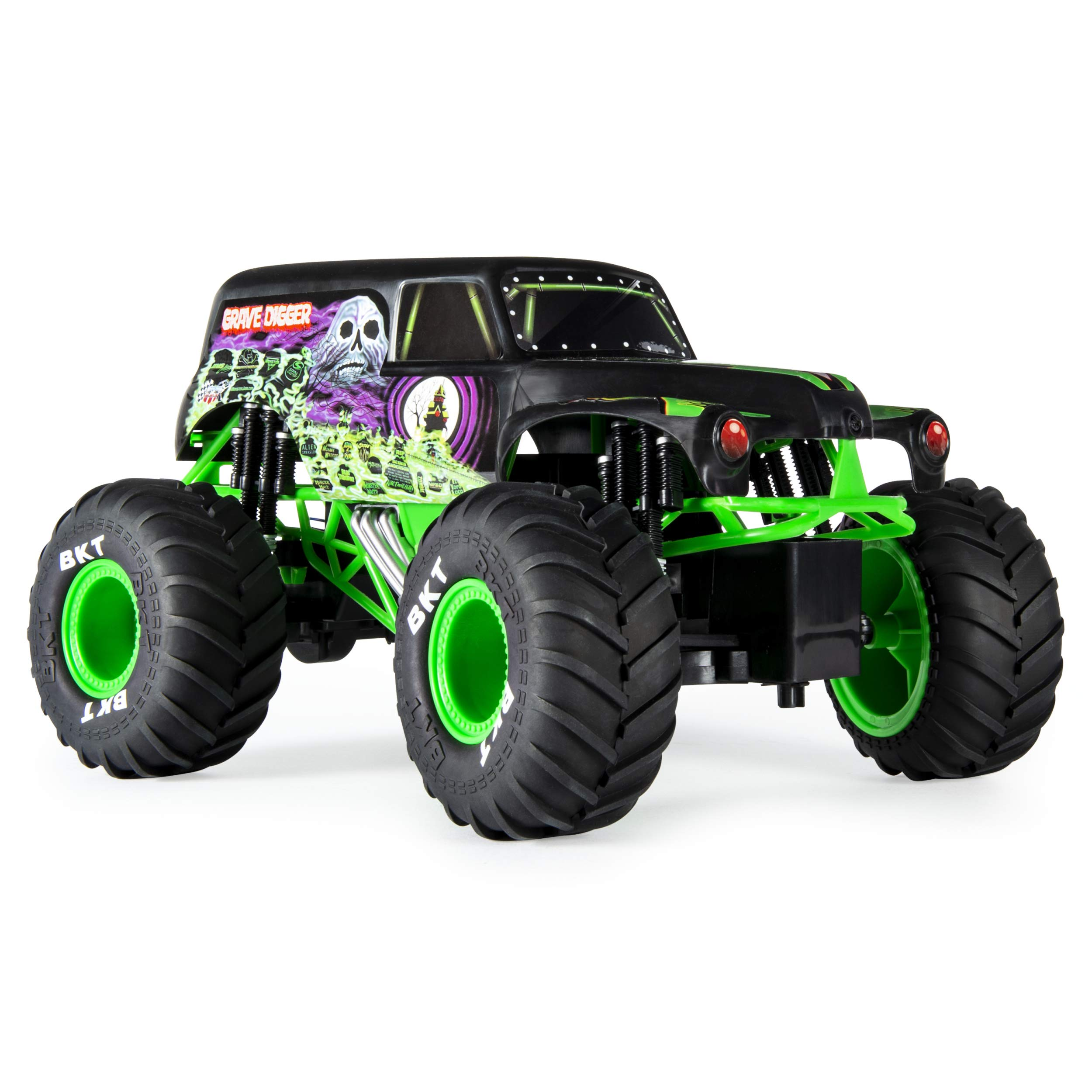 Monster Jam Official Grave Digger Remoter Control Monster Truck, 1: 15 Scale, 2.4Ghz by Monster Jam (Image #8)