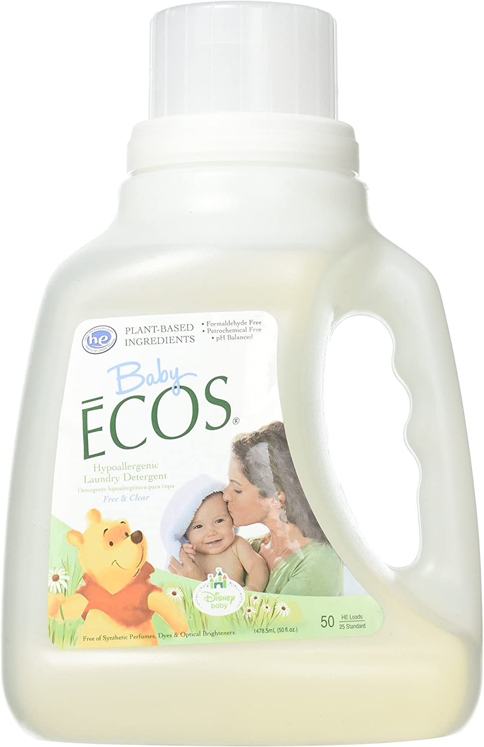 Earth Friendly bebé Ecos Disney lavandería detergente libre y ...