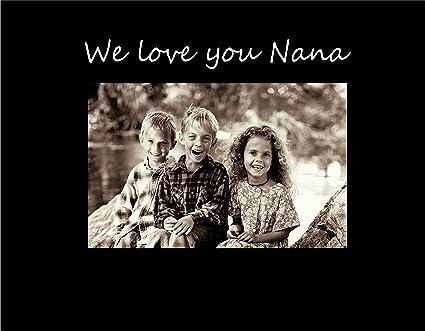 Amazon.com - Infusion Gifts 9012SB We Love You Nana Photo Frame ...