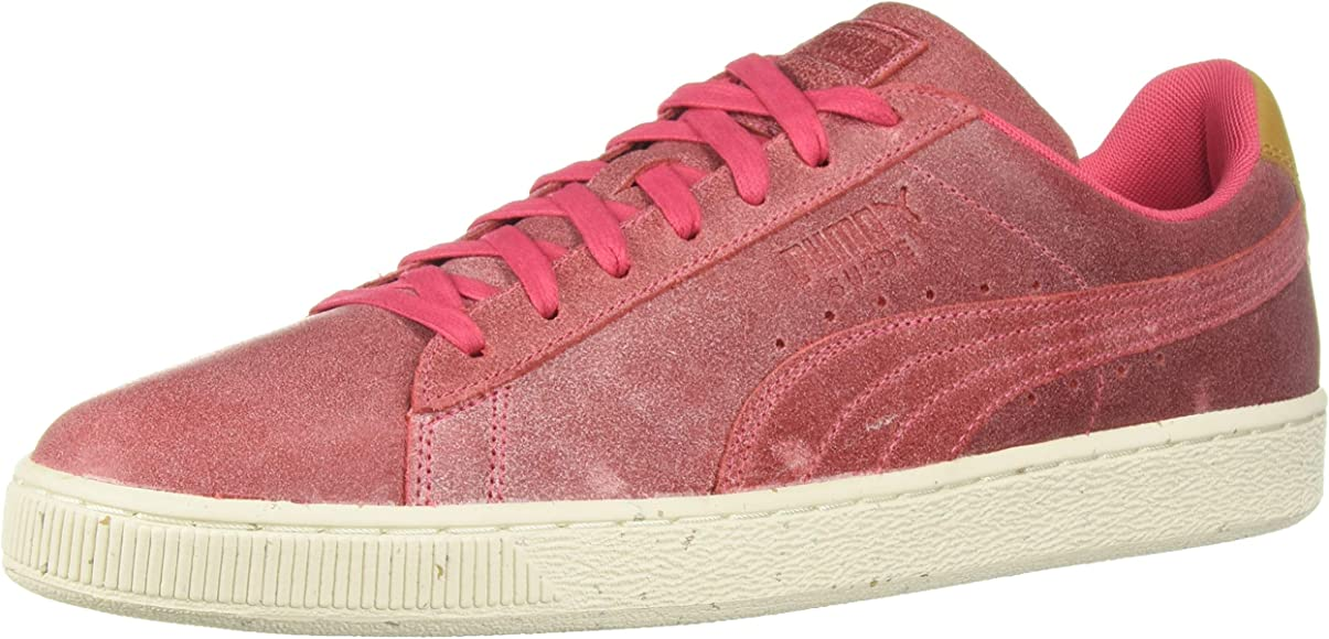 PUMA Mens Suede Deco Lace Up Sneakers