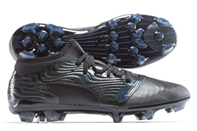 Puma One 18.2 AG Football Boots Black Black Asphalt  Amazon.co.uk ... 6c1cb2f43