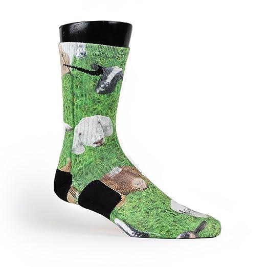 HoopSwagg Goat Farm Custom Elite Socks Small