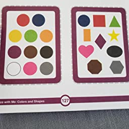 Carson Dellosa Trace With Me Colors And Shapes Activity Book