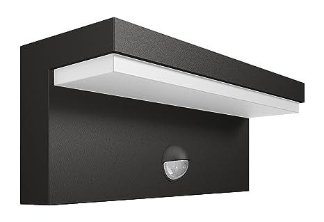 Philips Luminaire Extrieur Led Applique Avec Dtection Bustan Gris