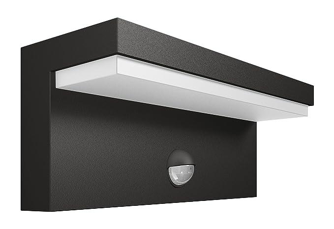 Philips bustan lampada da parete da esterno led con sensore di