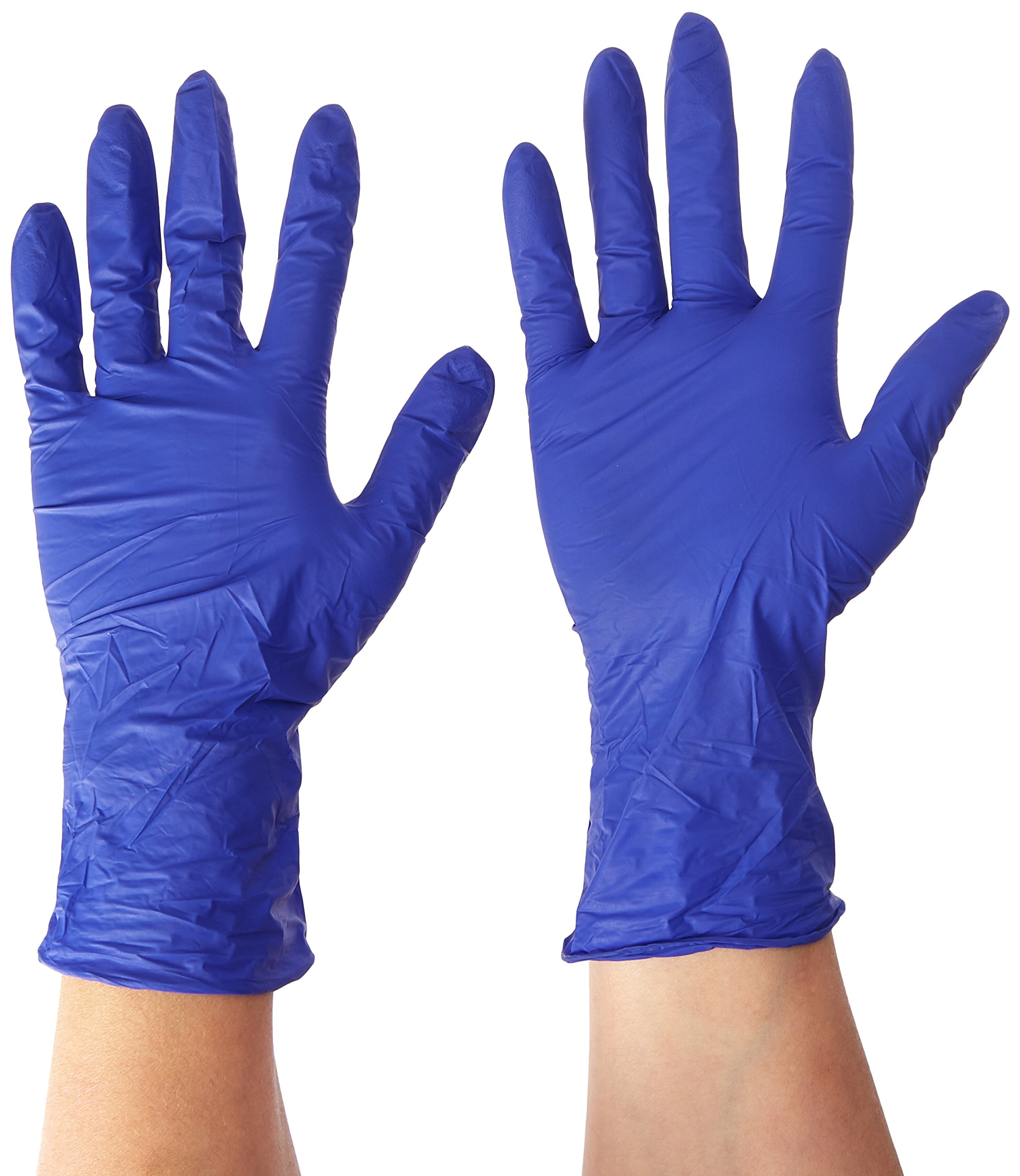 Dynarex Dynaplus Economy Nitrile Gloves, Small, 200 Count