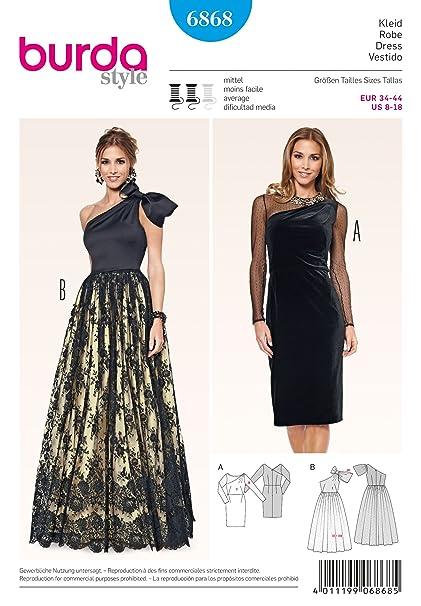 Amazon Burda Sewing Pattern 40 Dress Arts Crafts Sewing Custom Burda Sewing Patterns