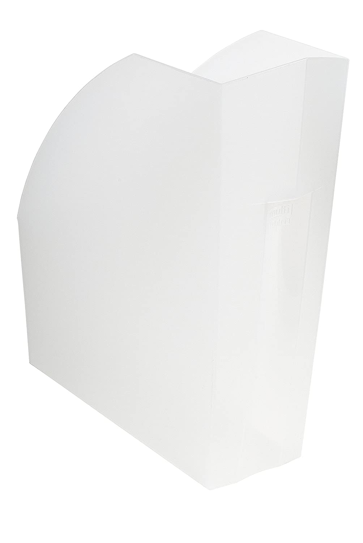 Exacompta 18081D Stehsammler 1 St/ück lemongr/ün transluzent 29,2 x 11 x 32 cm, f/ür DIN A4, ideal f/ür die Ablage Ihre Dokumente, robust