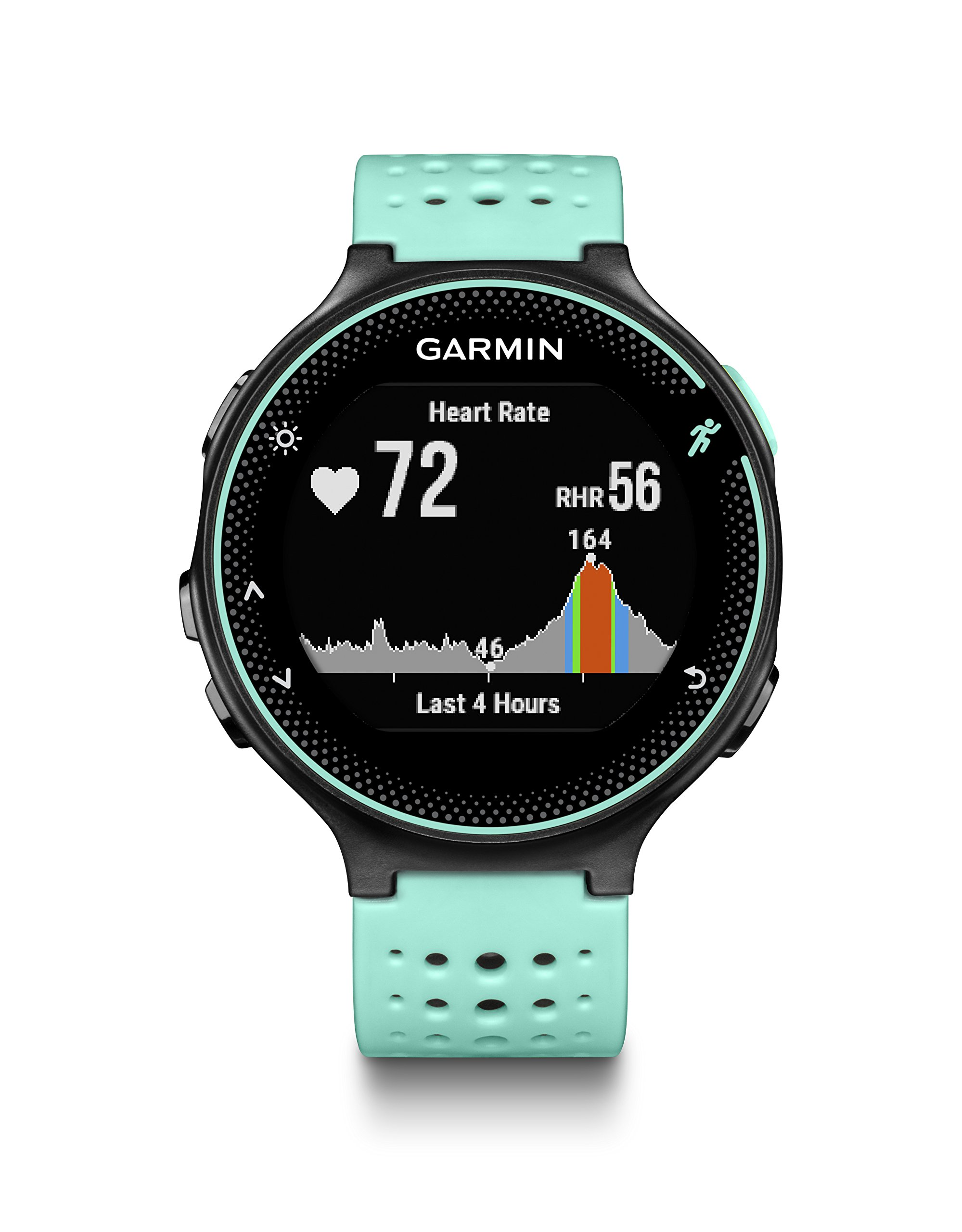 Garmin Forerunner 235 (Frost Blue) GPS Running Watch Bundle | with HD Screen Protector Film (x4) & PlayBetter USB Car/Wall Adapters | On-Wrist Heart Rate | Elevate Heart Rate Technology | VO2 Max by PlayBetter (Image #1)