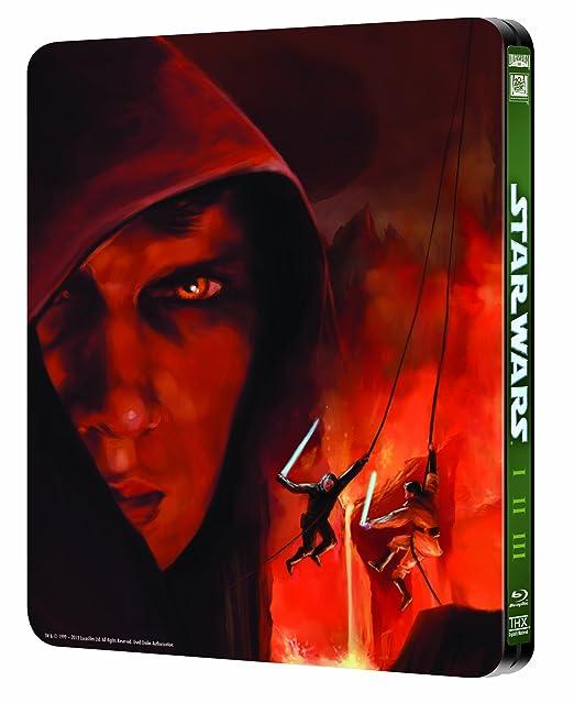 Star Wars: Prequel Trilogy [Reino Unido] [Blu-ray]: Amazon.es: Cine y Series TV