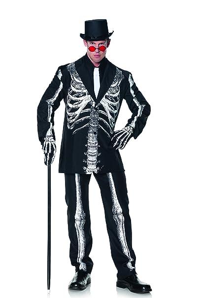 Amazon.com: Underwraps - Traje con esqueleto para hombre ...