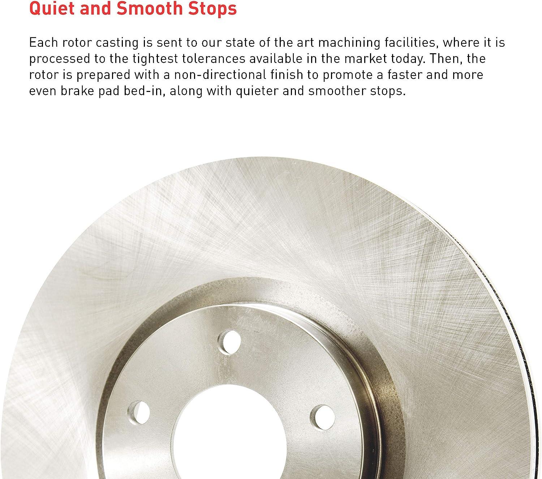 Rear Right Dynamic Friction Company Disc Brake Rotor 620-02066D 1
