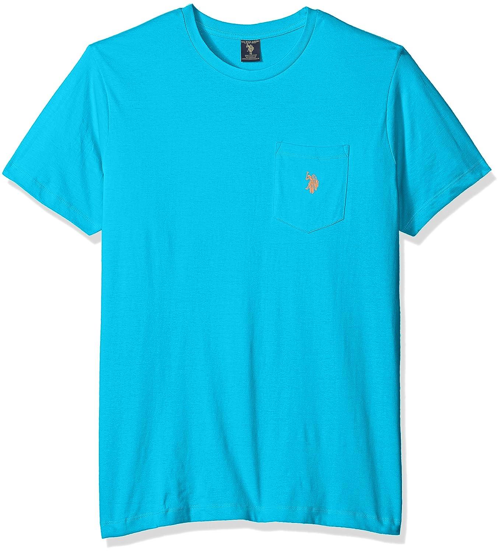 US Polo Assn Men's Crew Neck Pocket T-Shirt
