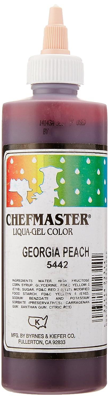 Chefmaster Liqua-Gel Food Color, 10.5-Ounce, Georgia Peach
