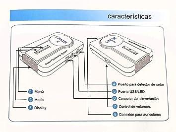 Avisador GPS de radares de Alta sensibilidad Lince II: Amazon.es: Electrónica