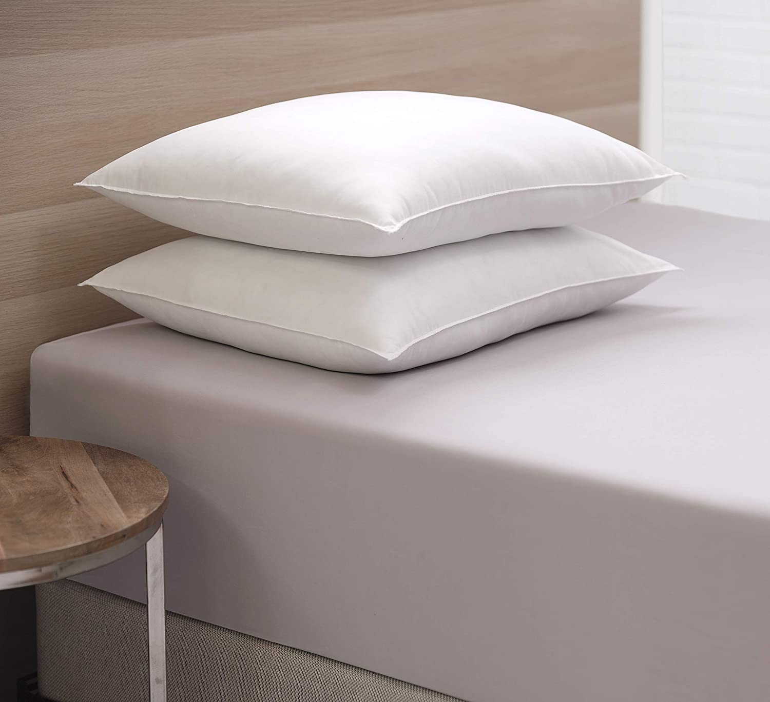 Allied Essentials AMPWBMI_9836L_QF Sleeping Hotel Pillows, Queen, White