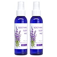 Soothing Sleep Mist. Lavender Pillow Spray. Peaceful, Relaxing Sleep Spray for Calming...
