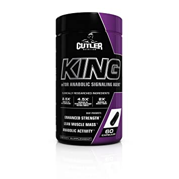 Cutler Nutrition King Motor Anabolic Signaling Agent 60 Count