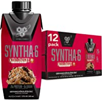 BSN Syntha-6 Whey Protein Shake, Cold Stone Creamery - Ready to Drink, 12g Protein, 0g Sugar, GermanChokolatekake Flavor…