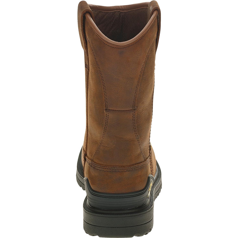 11 D US M Herman Survivor Mens Bison Steel Toe Waterproof Brown Work Boot