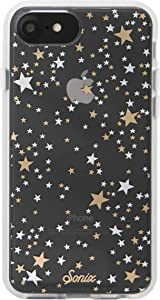 Sonix Starry Night Cell Phone Case [Military Drop Test Certified] Protective Gold Silver Stars Clear Case for Apple iPhone 6, iPhone 6s, iPhone 7, iPhone 8