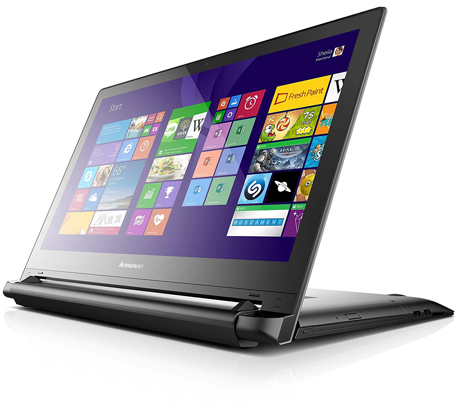Lenovo Flex 2 - Pantalla táctil Negro - Ordenador portátil (i5-4210U, DVD Super Multi DL, Touchpad, Windows 8.1)