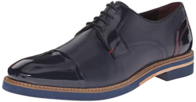 Ted Baker Men's Braythe2 Tuxedo Oxford, Dark Blue Leather, ...