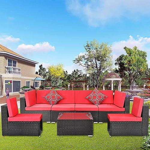 Polaris Garden 7 Piece Patio Furniture Sets
