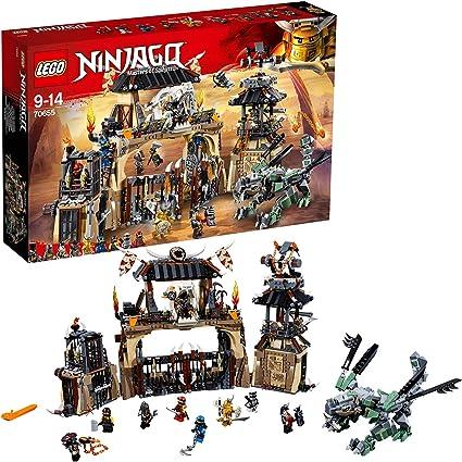Amazon.com: LEGO Ninjago Dragon Pit Playset, Watchtower Jail ...