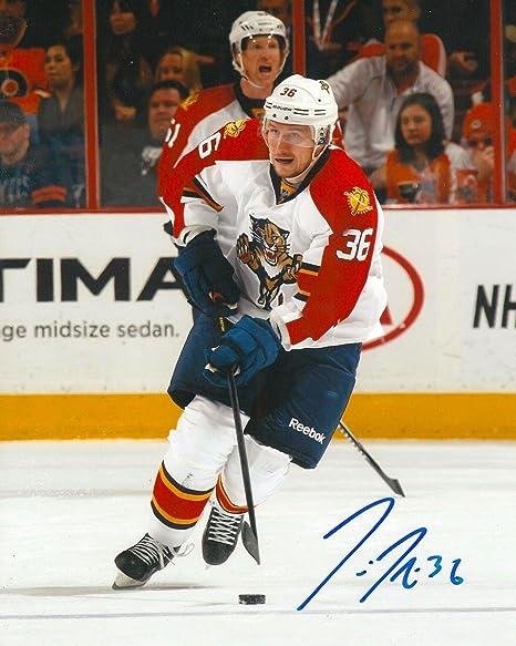 Sports Mem, Cards & Fan Shop Hockey-nhl Jussi Jokinen Signed Florida Panthers 8x10 Photo Coa