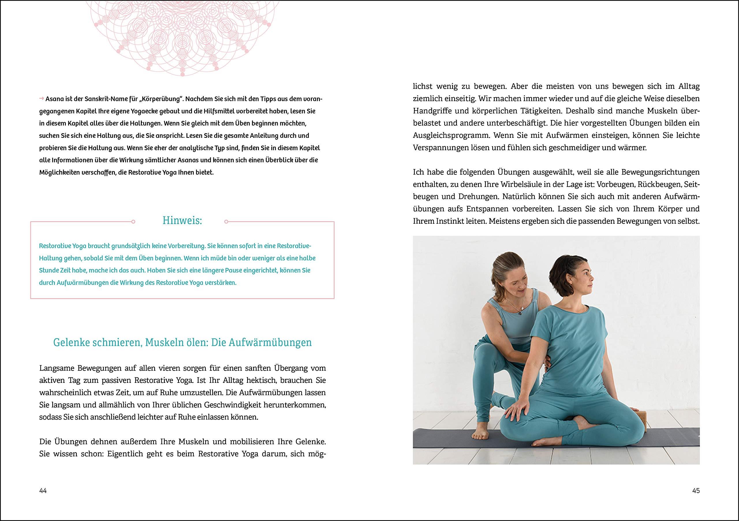 Restorative Yoga: Ruhe und Kraft durch Entspannung: Amazon ...