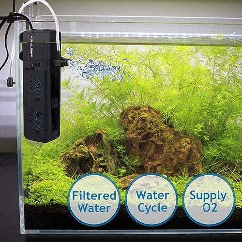 NO.17-Submersible-Aquarium-Internal-Filter-for-10-Gallon-Tank