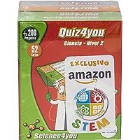 Science4you Pack Exclusivo Amazon 4xQuiz4you Ciencias, Dinosaurios, Cuerpo