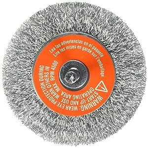 BLACK+DECKER 70-603 1/4-Inch Crimped Wire Wheel Coarse Shank, 3-Inch