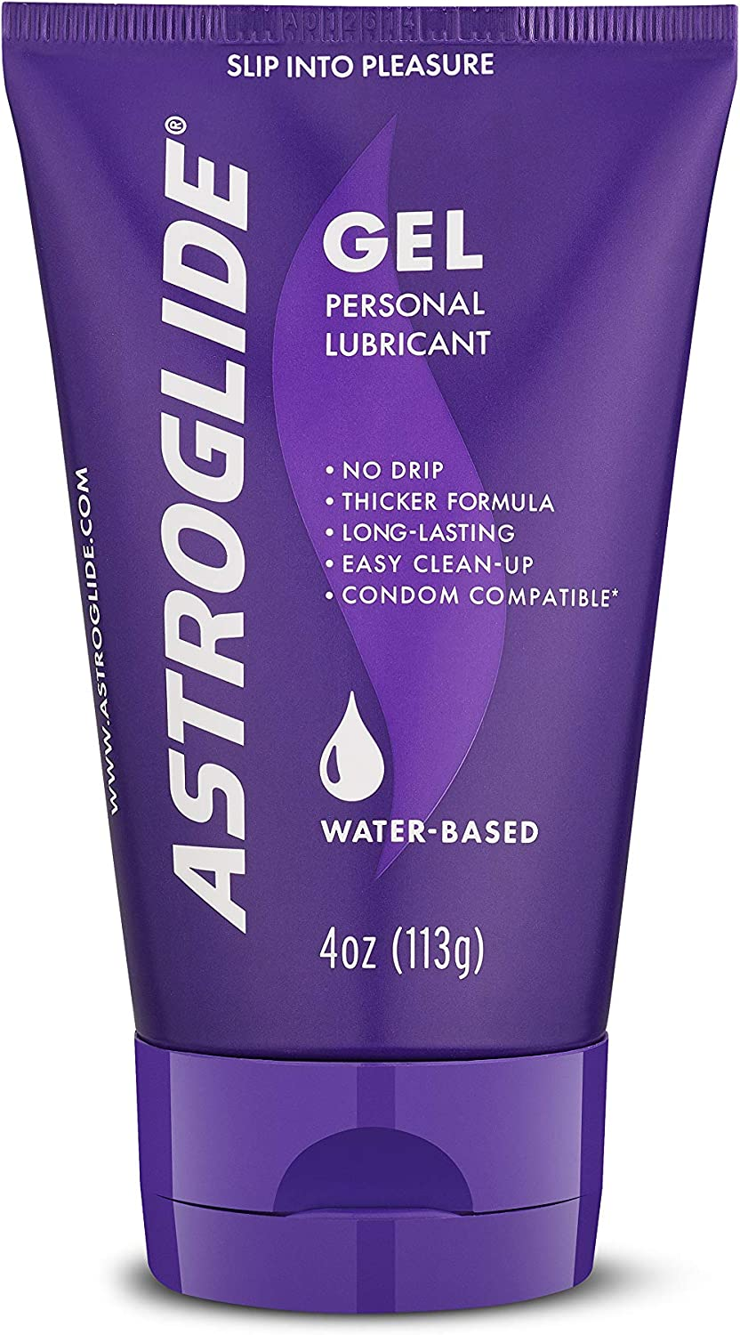 Amazon Com Astroglide Gel Water Based Personal Lubricant 4 Oz