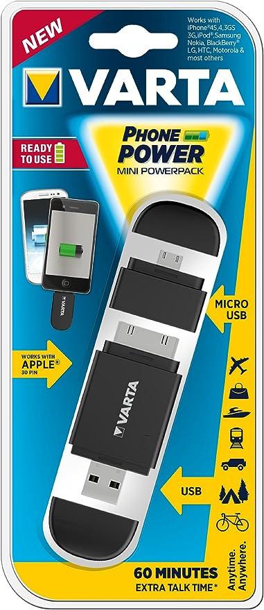 Varta Mini Power Pack - Pack de baterías para Flash (Lithium Ion ...