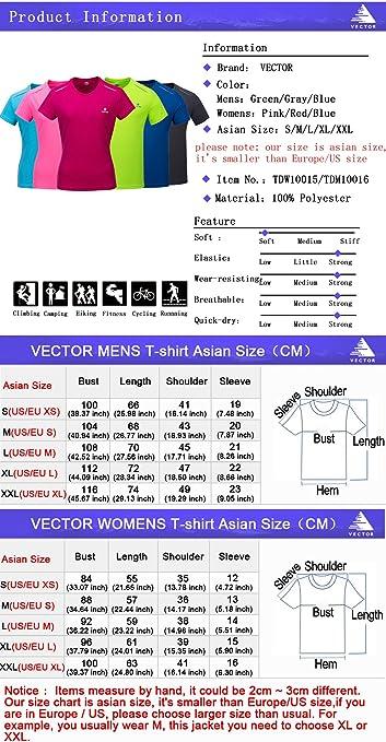 VECTOR - Camisa deportiva - para mujer, Hombre, color Gray ...