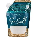 SaltWorks French Flower of Salt Artisan Pour Spout Pouch, Fleur de Sel, 15 Oz