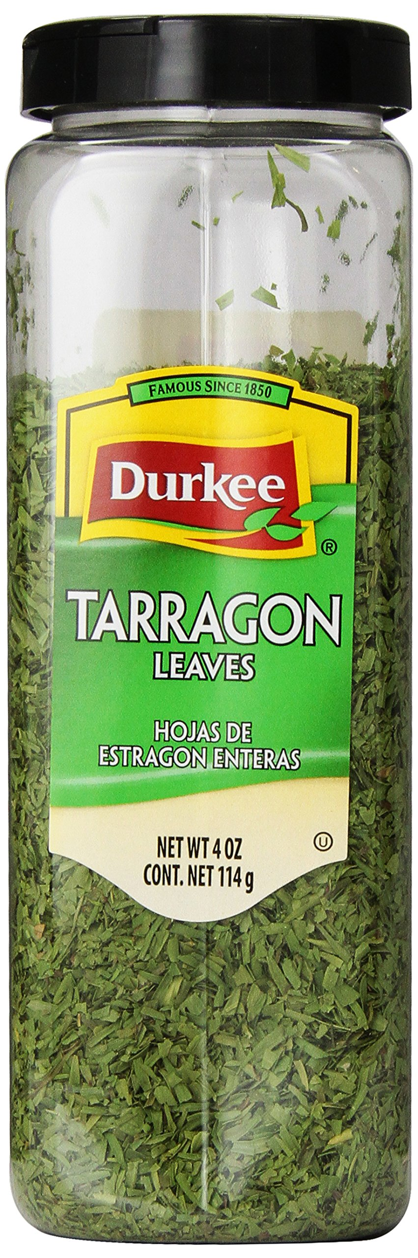 Durkee Tarragon Leaves Whole, 4-Ounce Containers (Pack of 2)