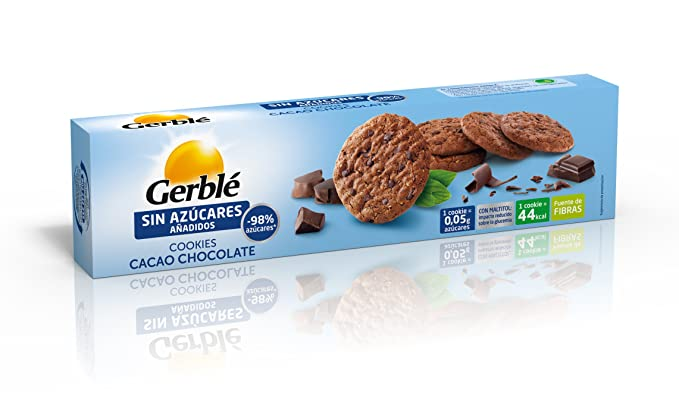 Cookies cacao chocolate gerblé 130 g