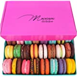 Leilalove Macarons - Paris Macaron 15 Collections of 10 Flavors - Lady in the Pink - Color of pink box may vary