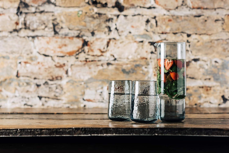 Bonplet Handmade Spitalfields Smoke 4 x Hi-Ball Glasses