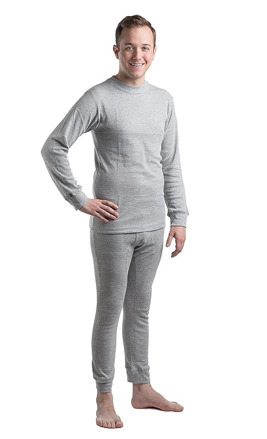 Da Uomo Termico Mutandoni Pantaloni Biancheria Intima Top Bottom Set T SHIRT S M L XL XXL