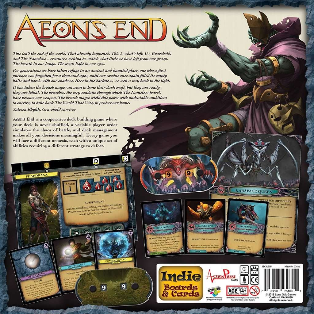 amazon com aeon s end game 4 players toys games