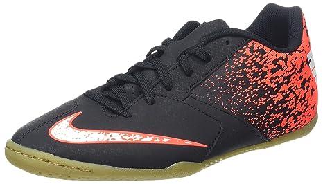 Nike BombaX IC Zapatillas de fútbol sala, Hombre, Negro (Black/White-