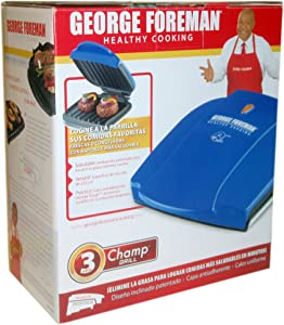 George Foreman Champ Grill Blue