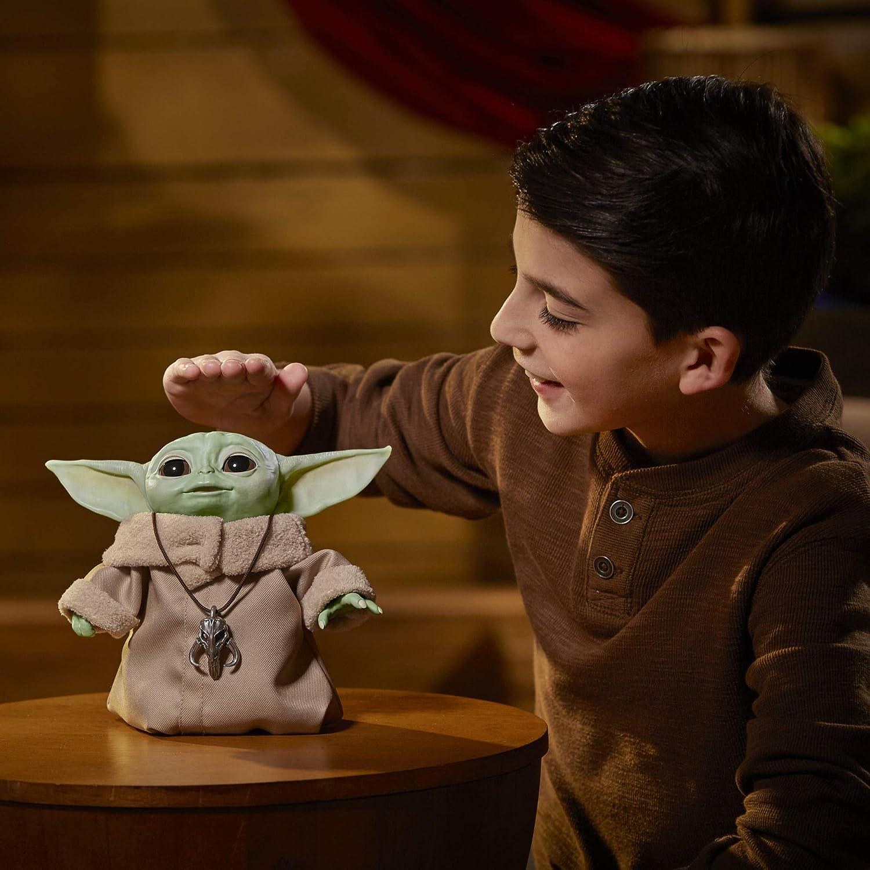 New Star Wars Mandalorian The Child Baby Yoda Animatronic Disney Hasbro Toy
